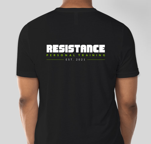Grand Opening Swag Fundraiser - unisex shirt design - back