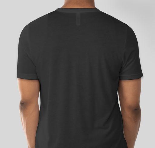 Go Gold Fight Childhood Cancer Fundraiser - unisex shirt design - back
