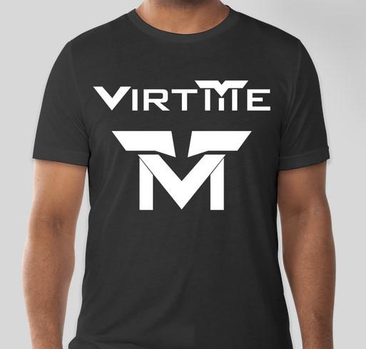 VirtMe Technology Scholarships Fundraiser - unisex shirt design - front