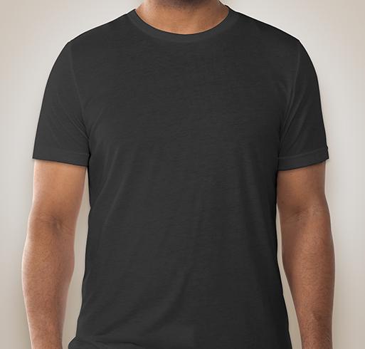 Canvas Tri-Blend T-shirt - Charcoal Black Triblend