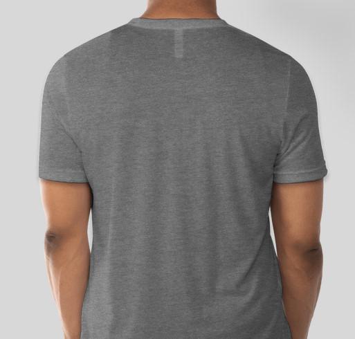 Commemorate IYNAUS Spring Sadhana with Abhijata Iyengar Fundraiser - unisex shirt design - back
