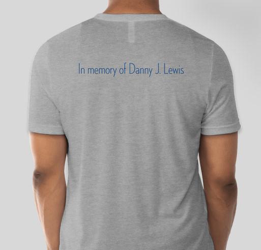 Save the Danatee Memorial Fundraiser - unisex shirt design - back