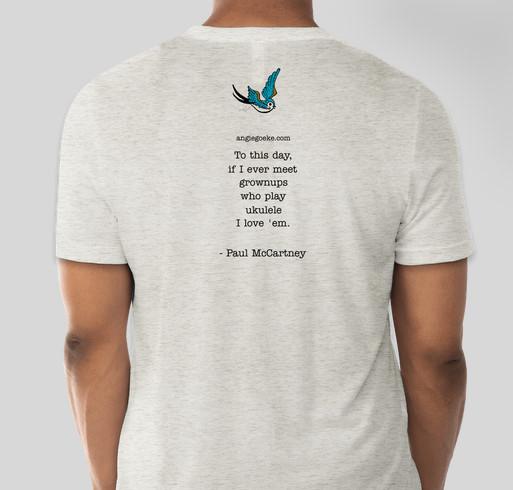 Angie Goeke's 2021 Album Fundraiser - unisex shirt design - back