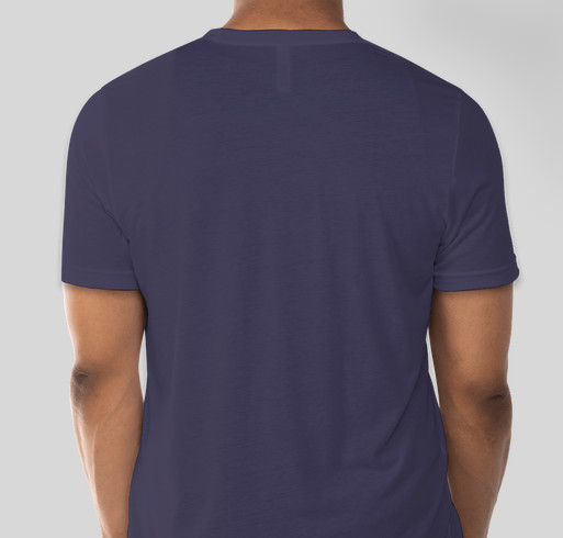 Bru is turning 1! Fundraiser - unisex shirt design - back