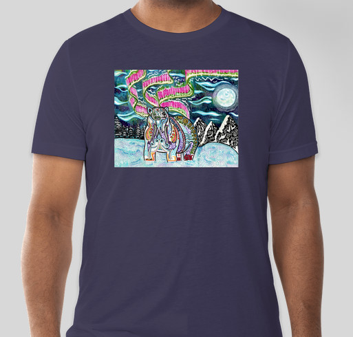 Rocky Mountain AAZK Trees for You and Me Fundraiser - unisex shirt design - front