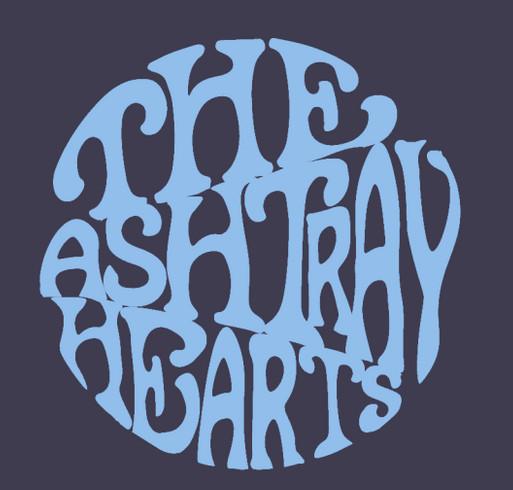 Ashtray Hearts Recording Mini-Fundraiser! shirt design - zoomed