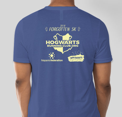 Forgotten 5K Fundraiser - unisex shirt design - back
