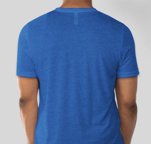 La Crosse Pride Apparel Fundraiser - unisex shirt design - back
