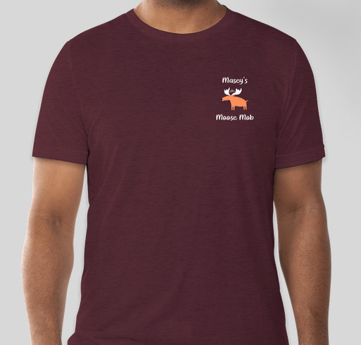 Moose Mob Shirts Fundraiser - unisex shirt design - small