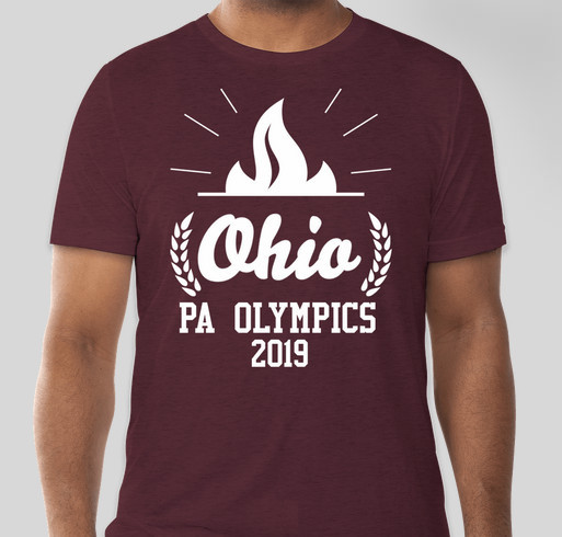 Ohio PA Olympics 2019- A Fundraiser - unisex shirt design - front