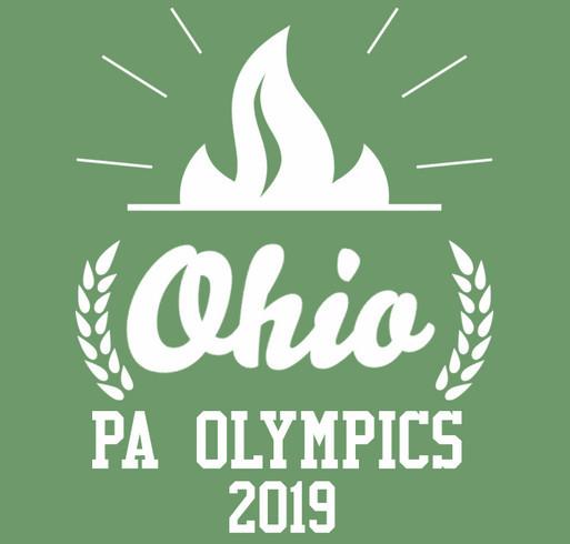 Ohio PA Olympics 2019- A shirt design - zoomed