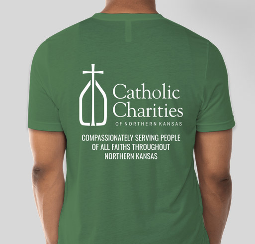 Together, We Can - Catholic Charities of Northern Kansas Fundraiser - unisex shirt design - back