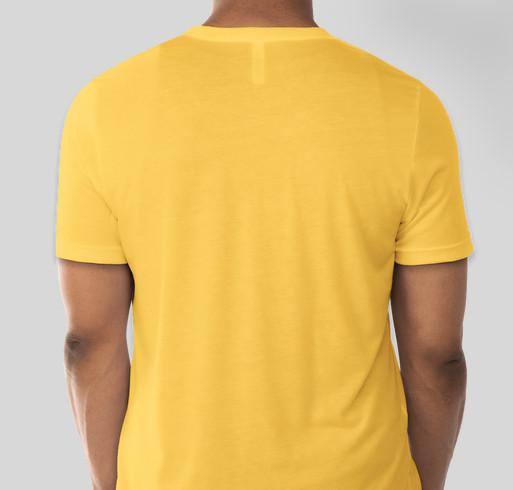 Rescue Road Trip / Pit Bull Flower Power Fundraiser - unisex shirt design - back