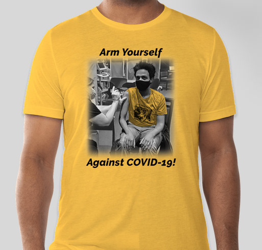 VACCINception: Arm Yourself Against COVID-19! Fundraiser - unisex shirt design - small