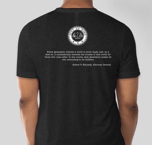 JUK Adult T-Shirt Fundraiser Fundraiser - unisex shirt design - back