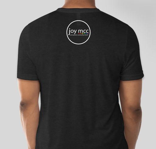Joy MCC's Love Wins Fundraiser Fundraiser - unisex shirt design - back