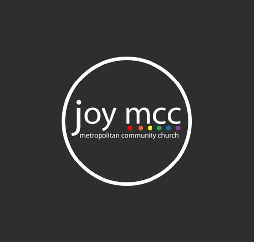 Joy MCC's Love Wins Fundraiser shirt design - zoomed