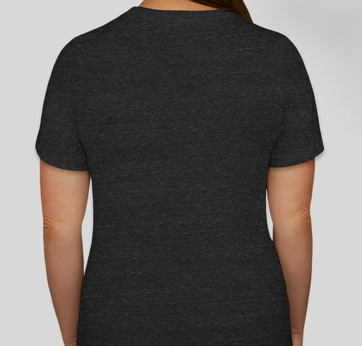 Hawkey Mom Tees - Happy Mother's Day Fundraiser - unisex shirt design - back