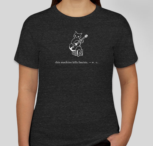 T-shirts for Fair Fight by Jenny Van West Music Fundraiser - unisex shirt design - front