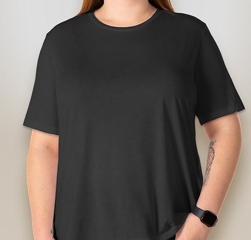 Bella Ladies Tri-Blend T-shirt - Charcoal Black Triblend