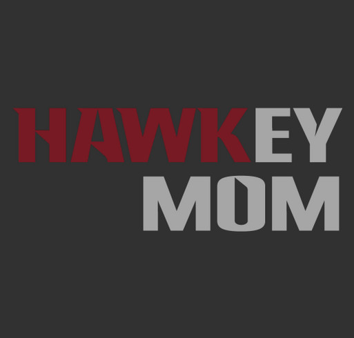 Hawkey Mom Tees - Happy Mother's Day shirt design - zoomed