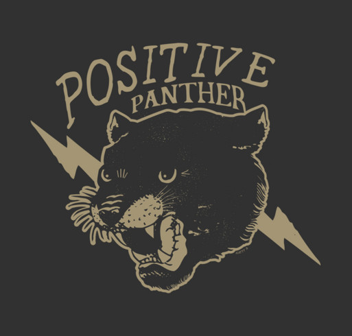 "The Natty B. ""Positive Panther"" Wheelchair Fund shirt design - zoomed"