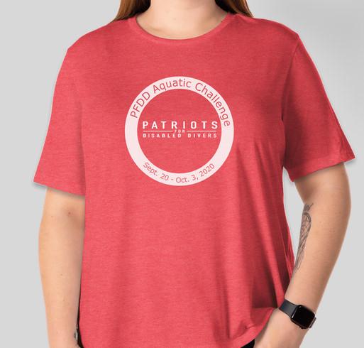 PFDD Aquatic Challenge Fundraiser - unisex shirt design - front