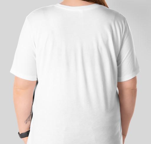 "4th in the Park 2020 | ""Quarantine"" T-shirt Fundraiser - unisex shirt design - back"