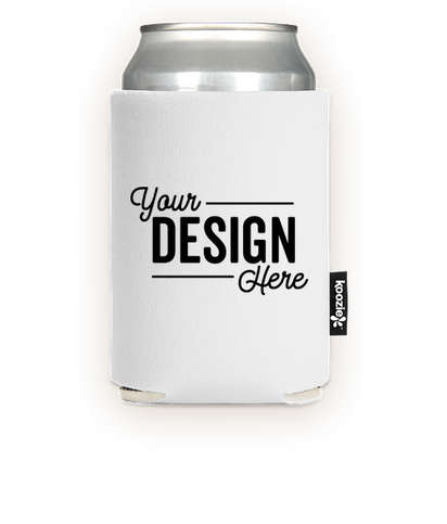 KOOZIE® Collapsible Can Kooler - White