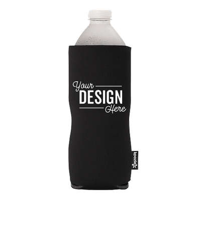 KOOZIE® Basic Collapsible Bottle Kooler - Black