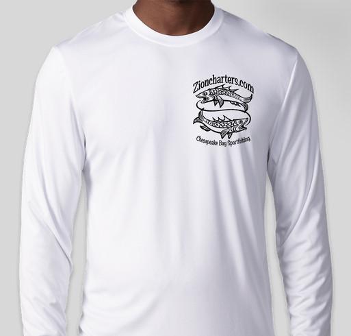 fdd44a176 Zion Charters Cool-Dri Performance Fishing Shirts Fundraiser - unisex shirt  design - front