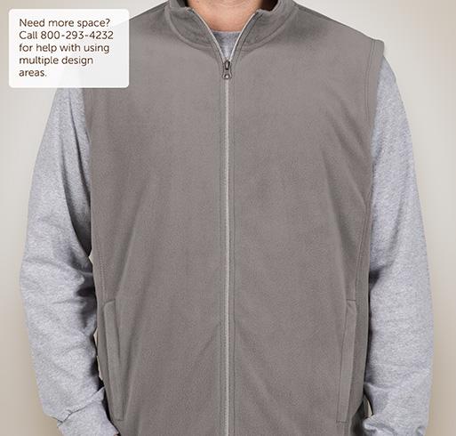 Port Authority Microfleece Vest - Pearl Grey