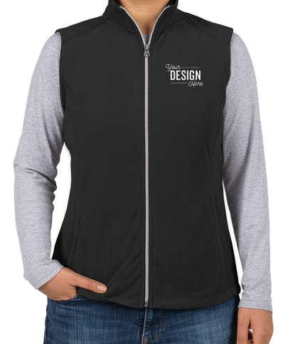 Port Authority Women's Microfleece Vest - Black