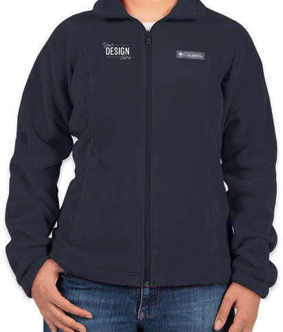 Columbia Women's Benton Springs Full Zip Fleece Jacket - Columbia Navy
