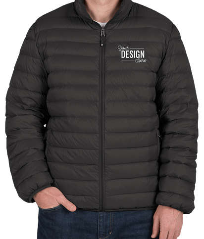 Weatherproof Packable Down Jacket - Black
