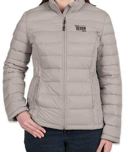 Weatherproof Women's Packable Down Jacket - Aluminum