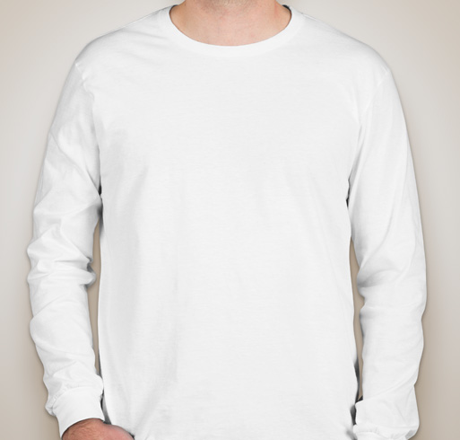 Anvil Long Sleeve Jersey T-shirt - White