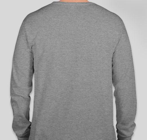 Ask Me What I'm Reading! Fundraiser - unisex shirt design - back