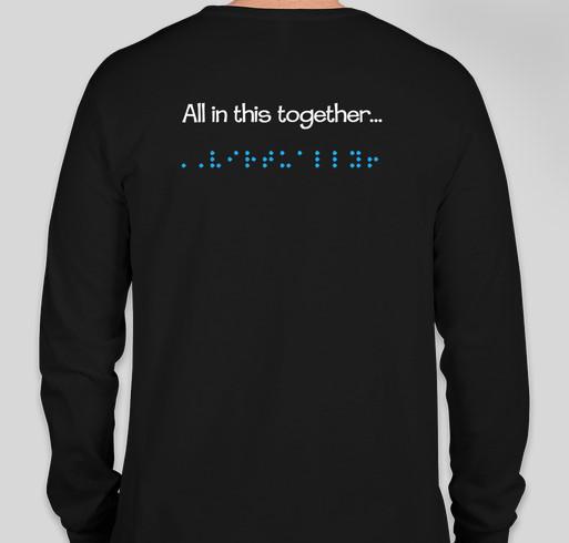 GVEST 2020 Fundraiser - unisex shirt design - back