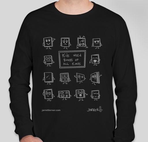 Kids Need Books Fundraiser - unisex shirt design - front