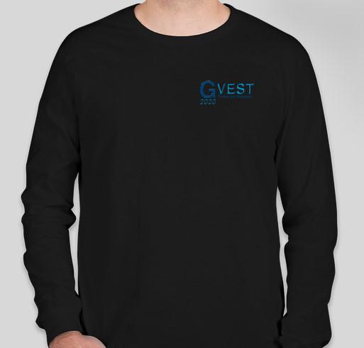 GVEST 2020 Fundraiser - unisex shirt design - front
