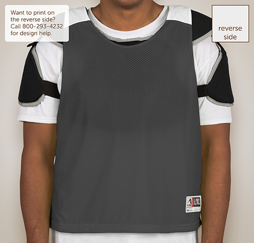 Augusta Reversible Colorblock Practice Pinnie - Selected Color