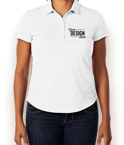 Design Custom Embroidered Nike Golf Ladies Dri Fit Smooth Performance Polo At Customink Nike dri fit golf polo shirt sz xxl white gray. nike women s dri fit smooth performance polo