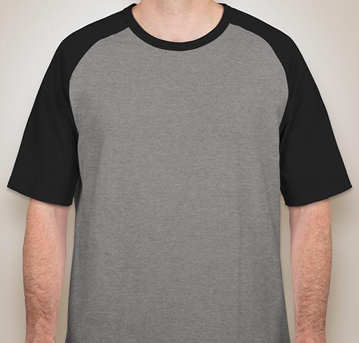 Sport-Tek Short Sleeve Baseball Raglan - White / Black