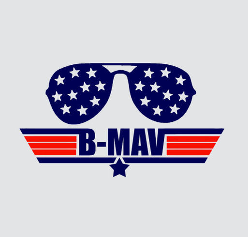 Be B-Mav's Wingman! shirt design - zoomed