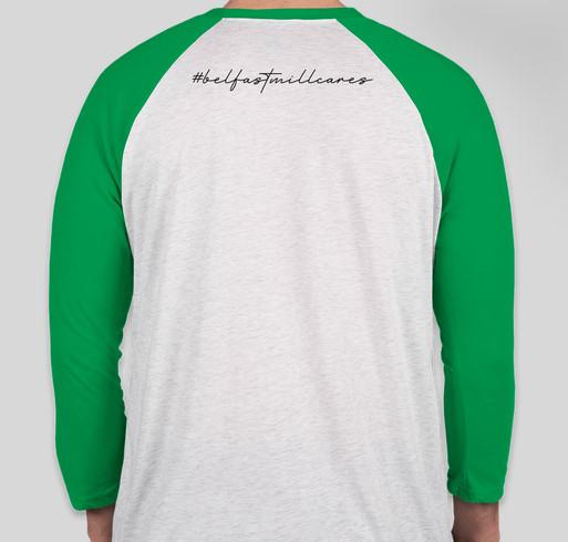 Belfast Mill Bartender Relief Fund Fundraiser - unisex shirt design - back