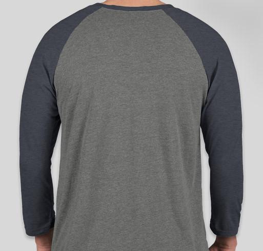 Brad Holwerda Fundraiser - unisex shirt design - back