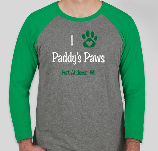 Paddy's Paws: Rescue Done Right! Fundraiser - unisex shirt design - front