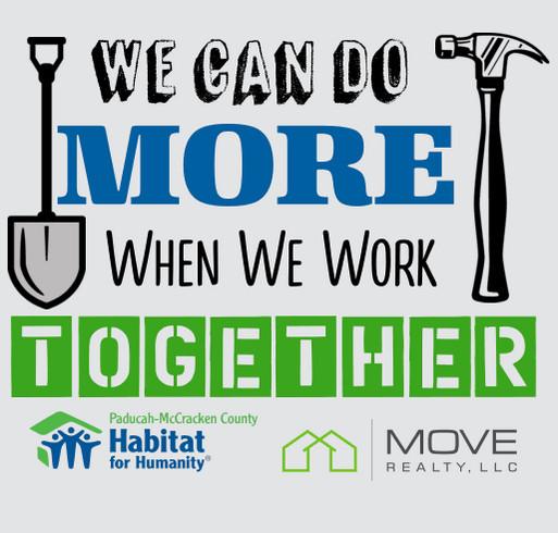 Paducah Habitat for Humanity Fall Home Build 2020 shirt design - zoomed