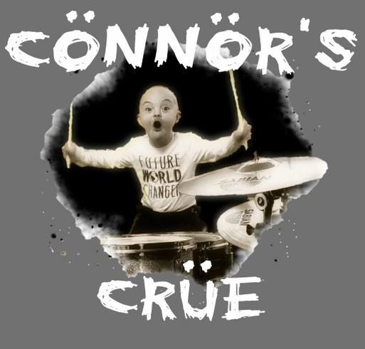 Connor's Crue 2018 shirt design - zoomed